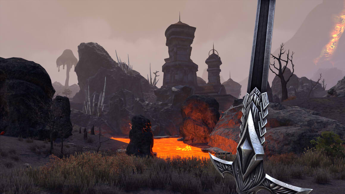 ESO Morrowind Ashlands