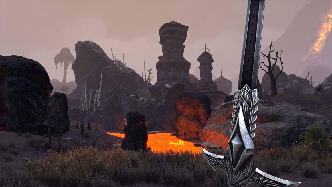 ESO Morrowind Ashlands