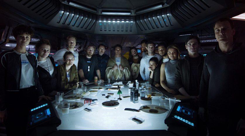 Alien-Covenant Crew