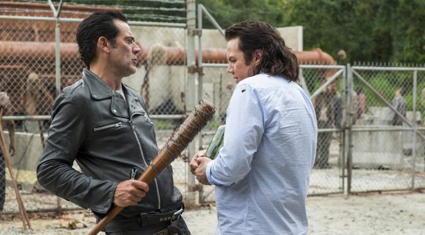 Negan and Eugene