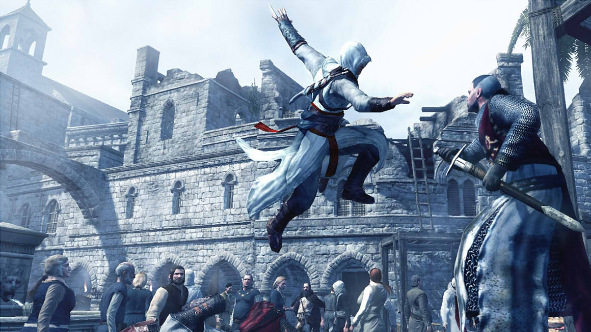 Assassin's Creed leap