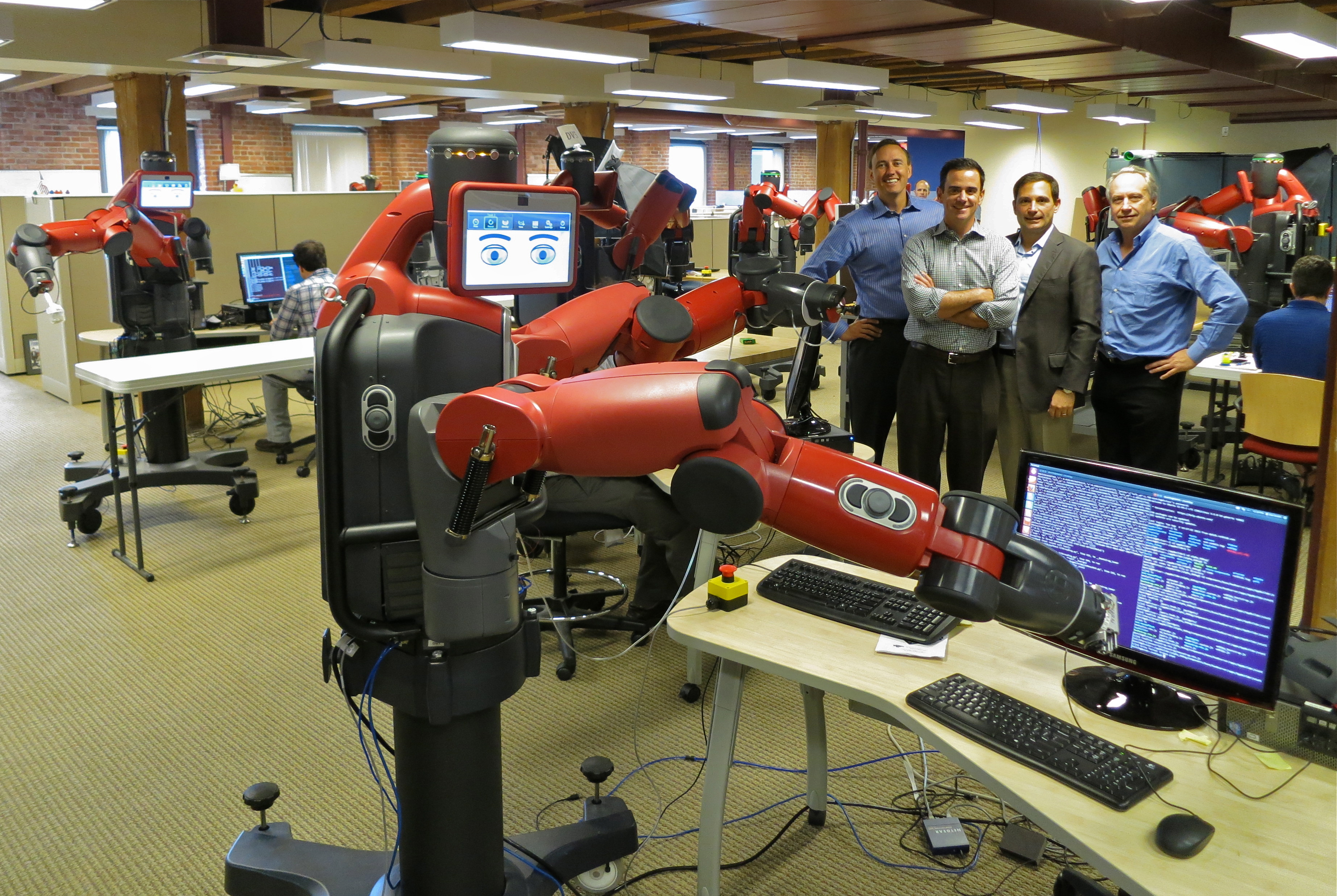"Baxter, an industrial robot that can be ""taught"" instead of programmed"
