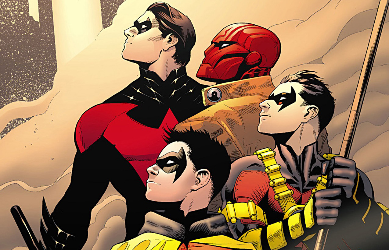 Nightwing and his Robins