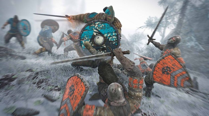 For Honor Orange and blue