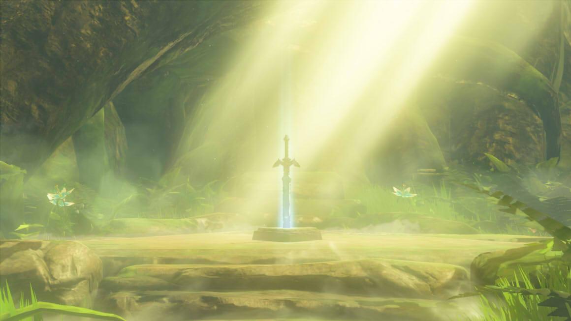 Zelda Breath of the Wild Master Sword