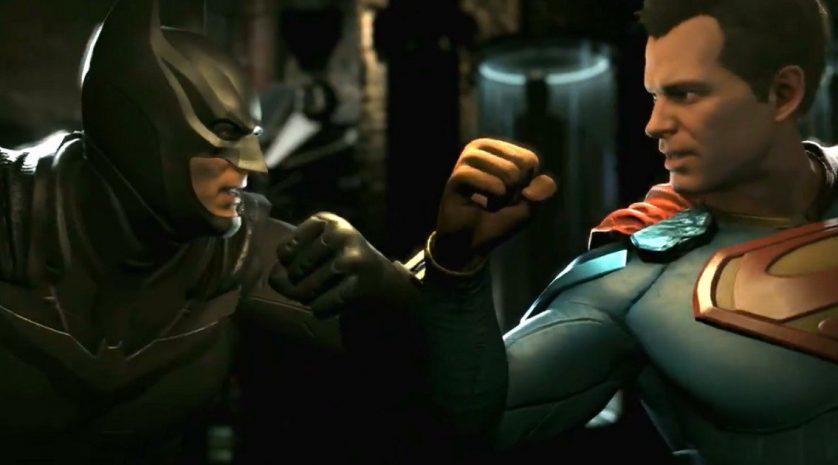 Injustice 2 bats-supes