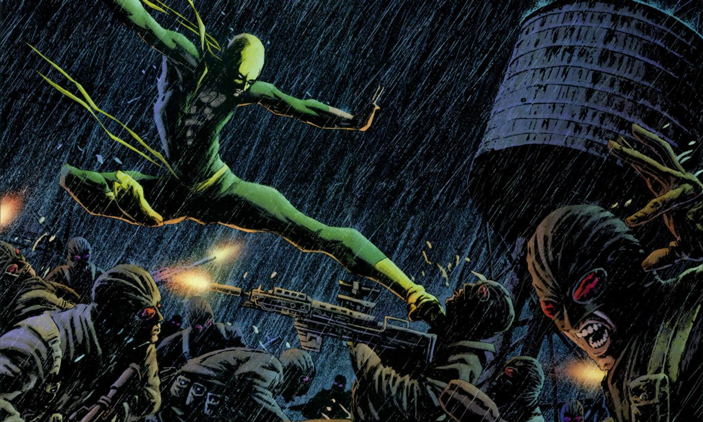 Iron Fist Marvel Comics