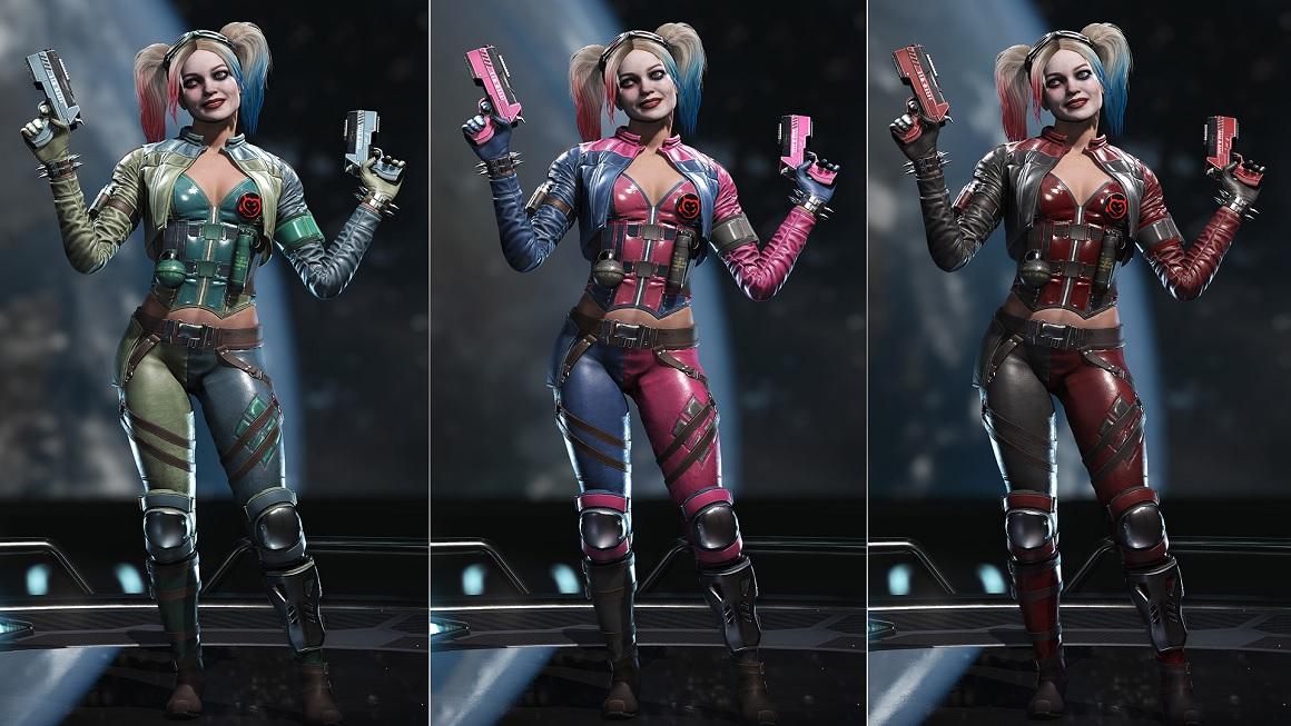 Injustice 2 cosmetics