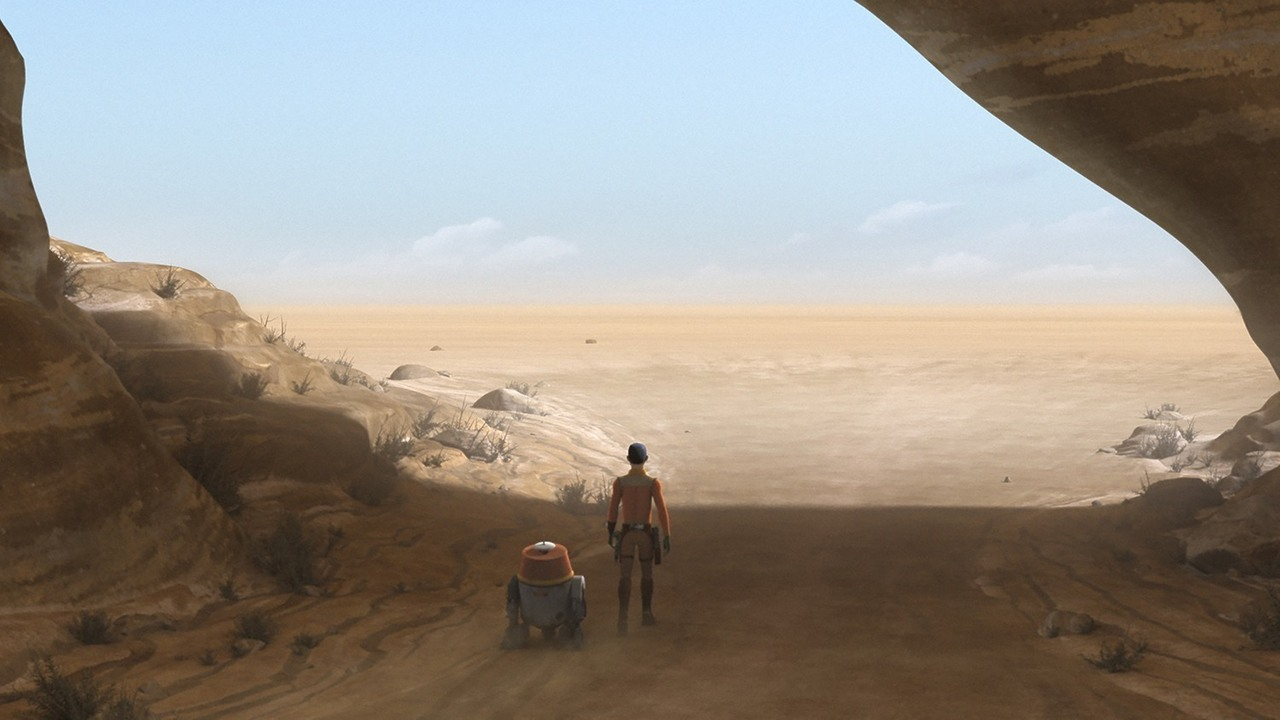 Star Wars Rebels 3.19 Ezra Chopper