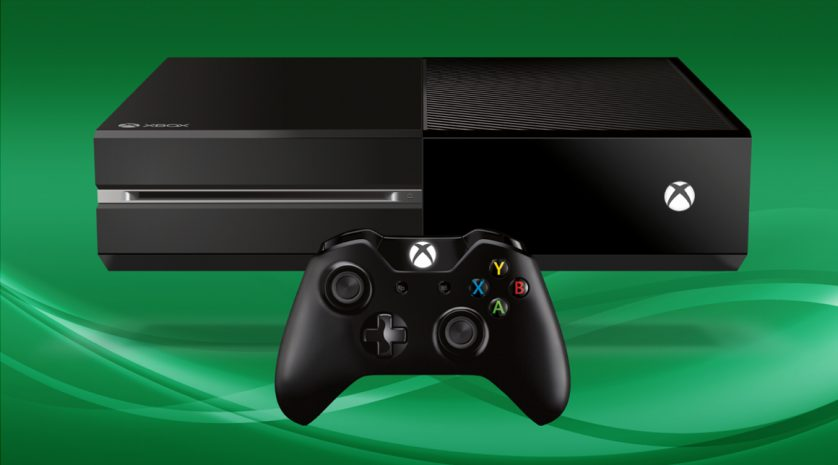 Xbox One green background