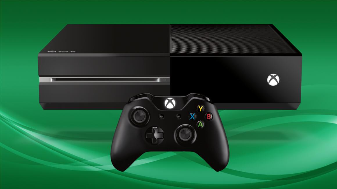 Xbox One green background