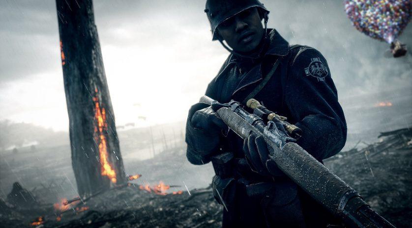 Battlefield 1 Up easter egg