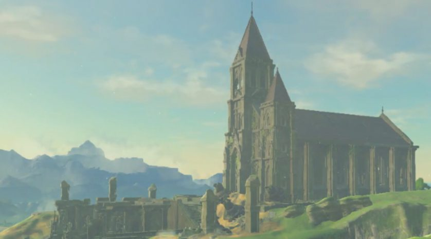 Breath of the wild temple of time