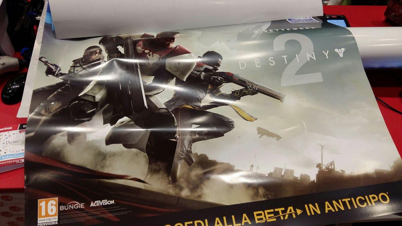 Destiny 2 Leak Poster