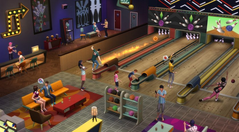 The Sims 4 Bowling