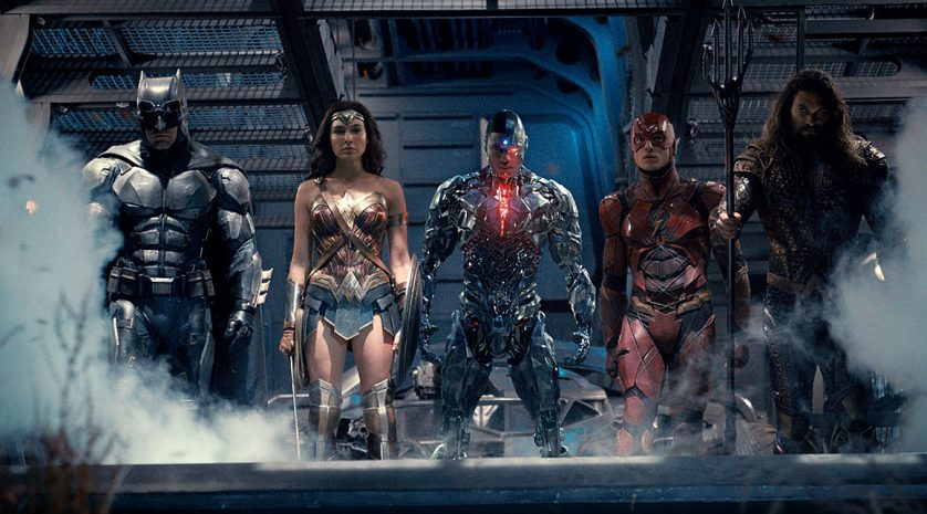 Justice League Poster and Teaser Trailer feat