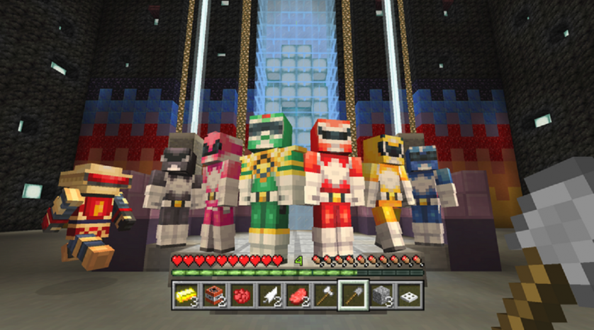 Minecraft Power Rangers