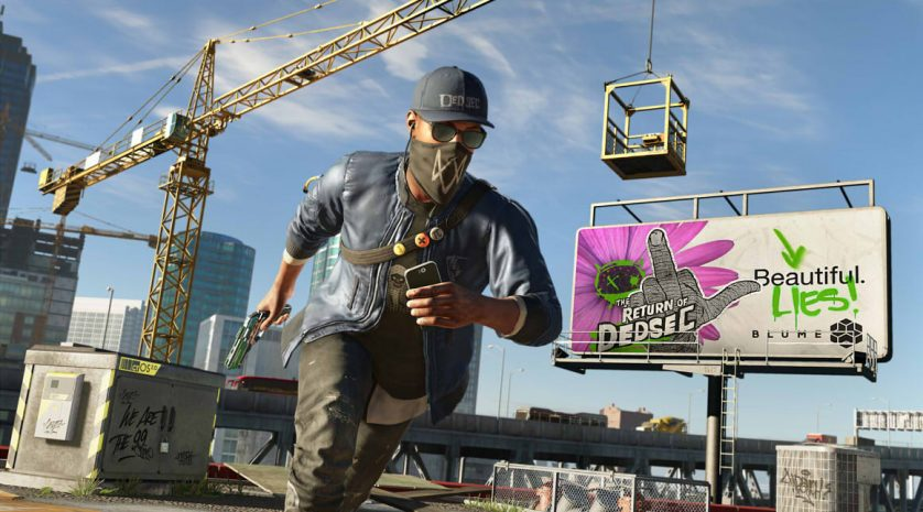 Watch Dogs 2 billboard