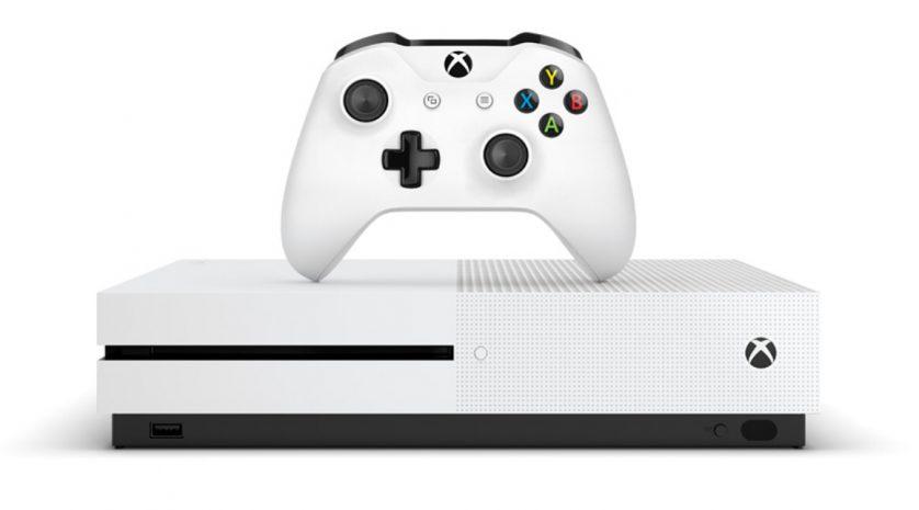 Xbox One S white on white