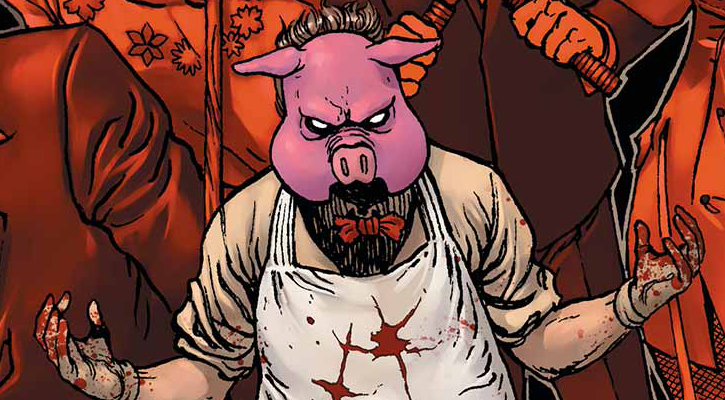 One Of The Most Unnerving Villains Weu0027ve Ever Seen In Gotham, Lazlo Valentin  Is Professor Pyg, Who First Tangled Against Nightwing While He Was  Operating As ...