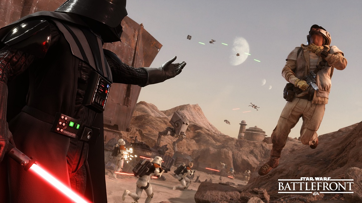 can you play 2 players on star wars battlefront online