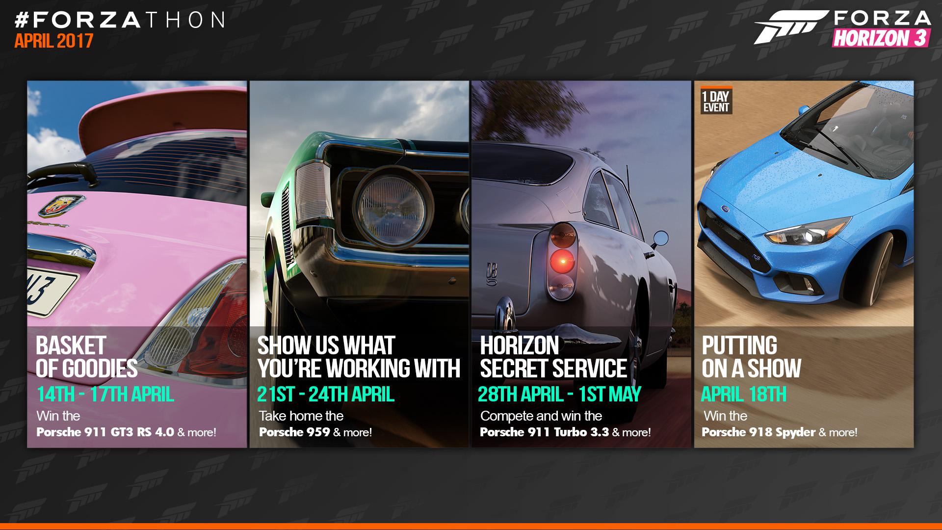 Forza  Reward Cars